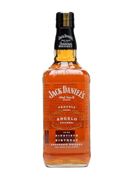 Jack Daniel's Angelo Lucchesi 90th Birthday 0,75l 45% L.E.