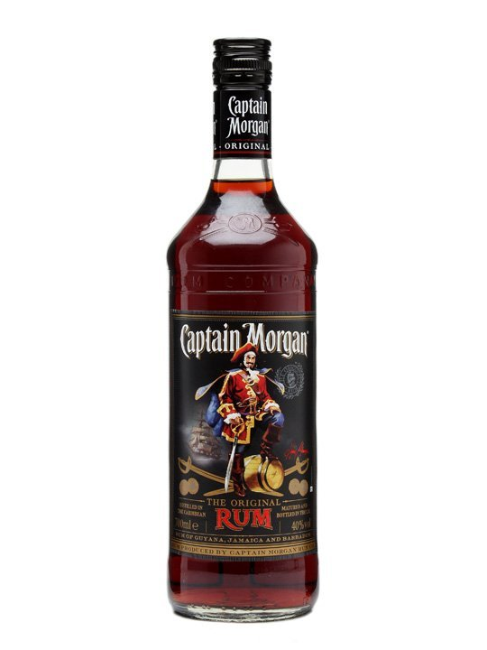 Captain Morgan Black 0,7l 37,5%