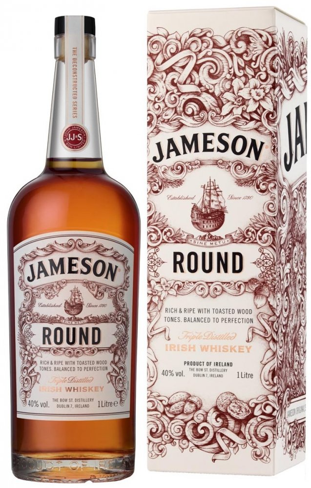 Jameson Round 1l 40% GB