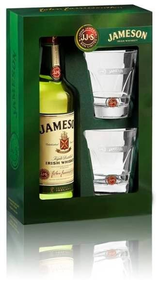 Jameson 0,7l 40% + 2x sklo GB