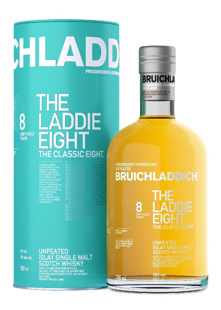 Bruichladdich The Laddie Eight 8y 0,7l 50%