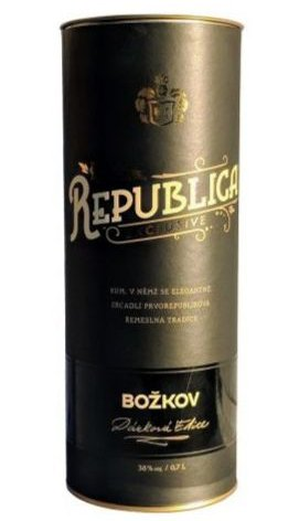 Božkov Republica Exclusive 0,7l 38% Tuba