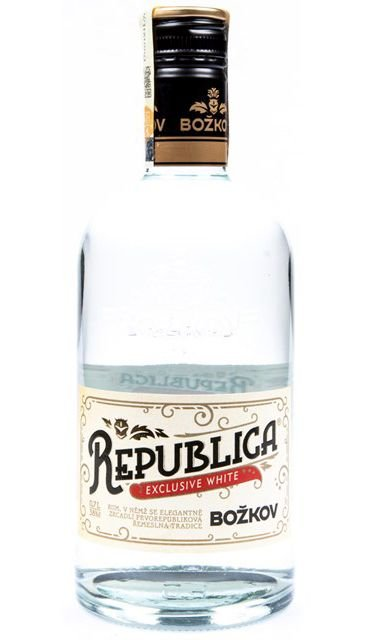 Božkov Republica Exclusive Bílá 0,7l 38%