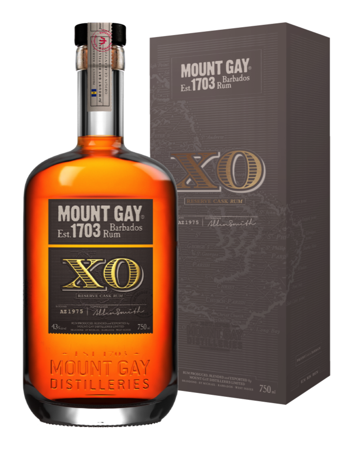 Mount Gay extra old XO 0,7l 43%