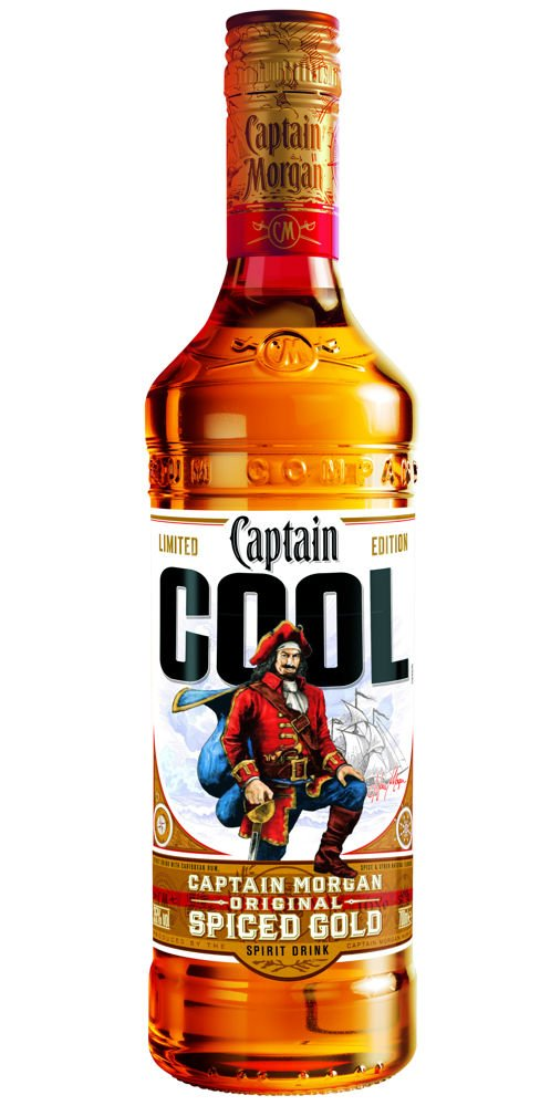 Captain Morgan Spiced  0,7l 35% - COOL
