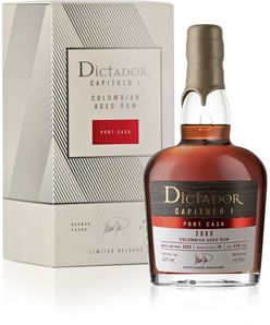 Dictador Capitulo Uno Port Cask 2000 0,7l 43% GB