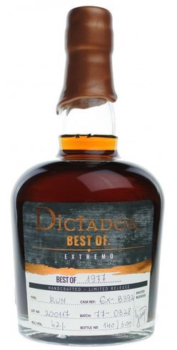 Dictador The Best of 40y 1977 0,7l 41% L.E. / Rok lahvování 2017