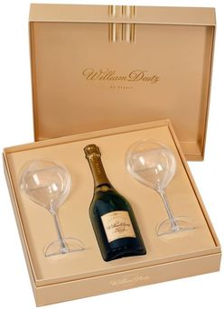 Cuvée de William Deutz Brut 2009 0,75l 12% + 2x sklo GB